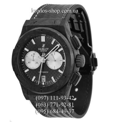 Hublot Classic Fusion Chronograph Carbon All Black-White