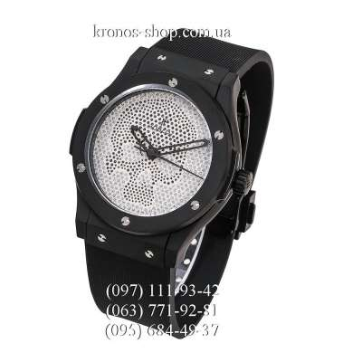 Hublot Classic Fusion Skull Bang Automatic All Black/White Crystals