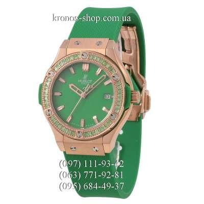 Hublot Classic Fusion Diamonds Lady Green/Gold-Green/Green