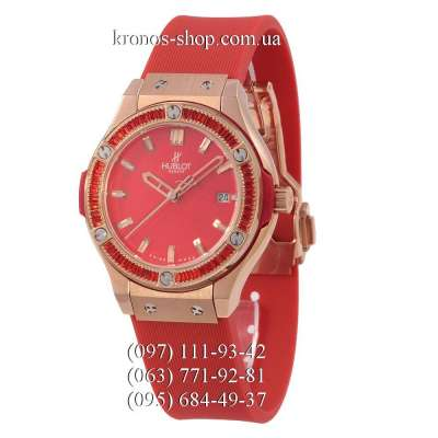 Hublot Classic Fusion Diamonds Lady Red/Gold-Red/Red