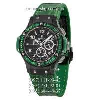 Hublot Big Bang Tutti Frutti Leather Ceramic Green/Black/Black
