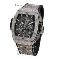 Hublot Spirit of Big Bang Titanium Pave Gray/Silver/Black