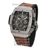 Hublot Spirit of Big Bang Titanium Pave Brown/Silver/Black