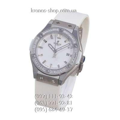 Hublot Classic Fusion Diamonds Lady White/Silver-White/White