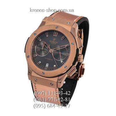 Hublot Classic Fusion Chronograph Gold/Gold/Black