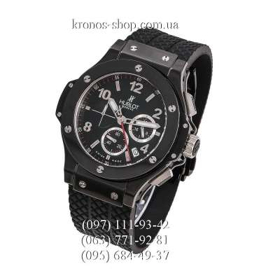 Hublot Big Bang Chronograph Black Ceramic All Black