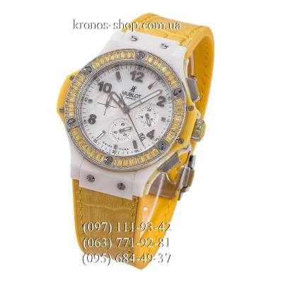 Hublot Big Bang Tutti Frutti Leather Ceramic Yellow/White/White