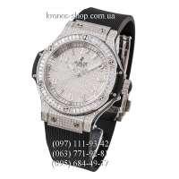 Hublot Big Bang Steel Diamonds Full Pave Black/Silver