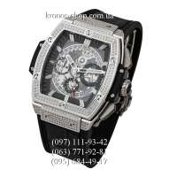 Hublot Spirit of Big Bang Titanium Pave Black/Silver/Black