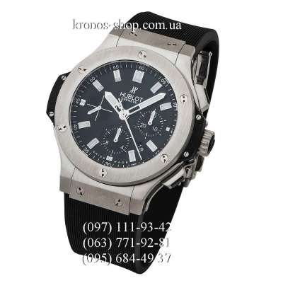Hublot Big Bang Automatic Chronograph Steel Black/Silver/Black