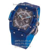 Hublot Spirit of Big Bang Plastic All Blue-Silver