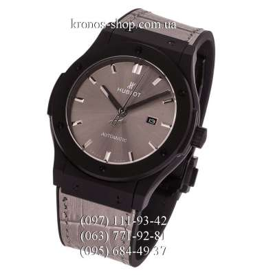 Hublot Classic Fusion Leather Gray/Black/Gray