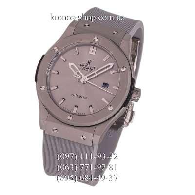 Hublot Classic Fusion Leather All Gray