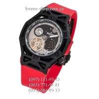 Hublot Techframe Ferrari Tourbillon Chronograph Red/Black