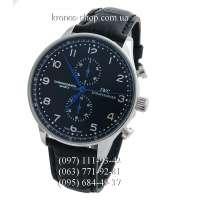 IWC Portuguese Chronograph Black/Silver/Black