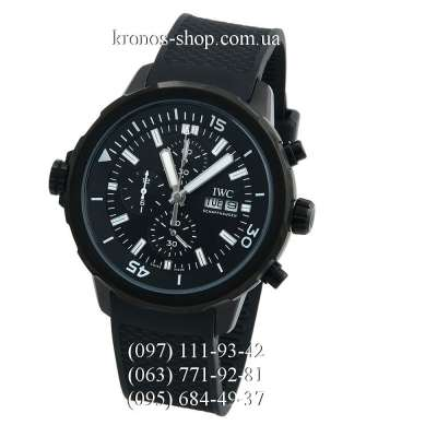 IWC Aquatimer Chronograph Expedition All Black