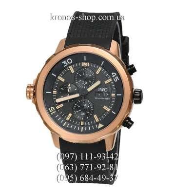 IWC Aquatimer Chronograph Expedition Black/Gold/Black