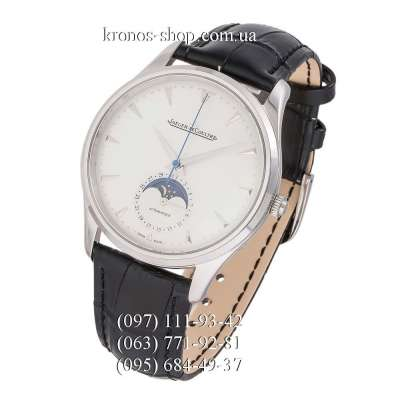 Jaeger-LeCoultre Master Control Master Ultra Thin Moon 39 Black/Silver/White