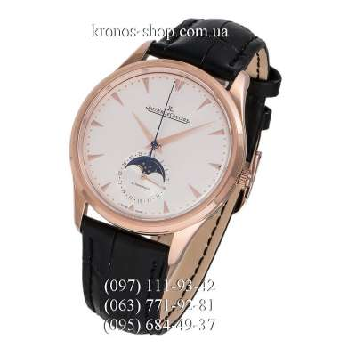 Jaeger-LeCoultre Master Control Master Ultra Thin Moon 39 Black/Gold/White