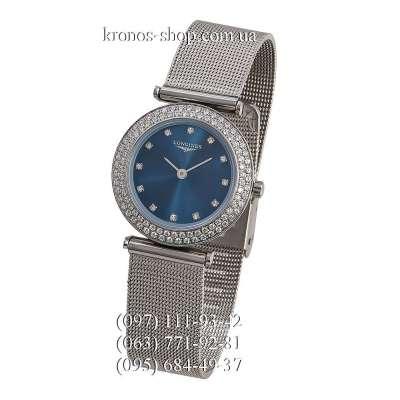 Longines La Grande Classique Diamonds Silver/Blue