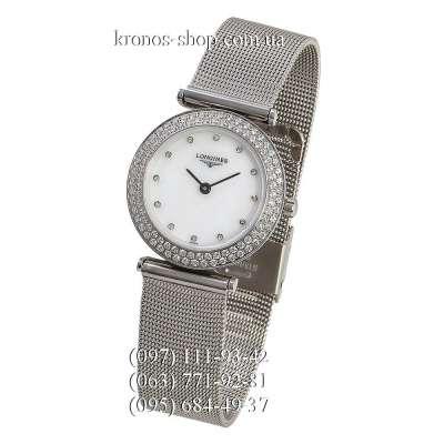 Longines La Grande Classique Diamonds Silver/White