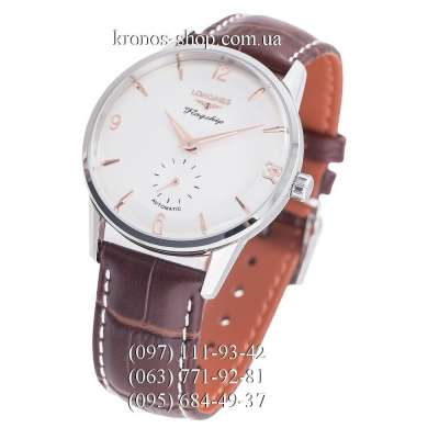 Longines Heritage Flagship 60th Anniversary Brown/Silver/White