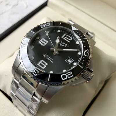 Longines Hydroconquest Bracelet Silver/Black