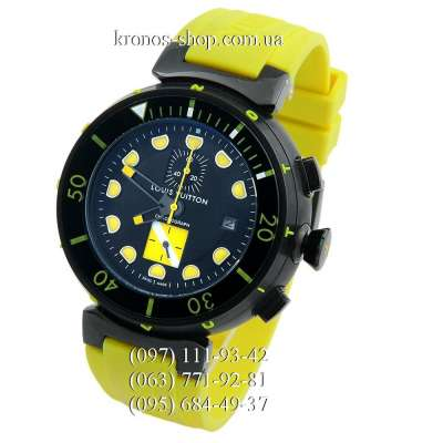 Louis Vuitton Tambour Diving Chronograph Yellow