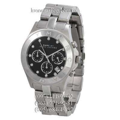 Marc Jacobs MBM3100 Blade Chrono Silver/Black