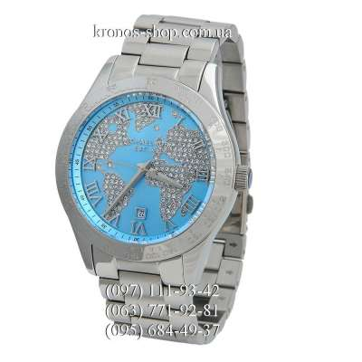 Michael Kors MK5959 Layton Silver-Blue