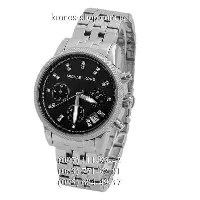 Michael Kors MK5021 Ritz Chronograph Silver/Black
