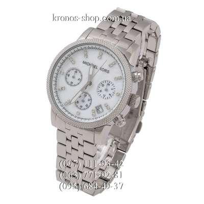 Michael Kors MK5020 Ritz Chronograph Silver Edition