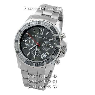 Michael Kors MK5753 Everest Chronograph Silver/Black