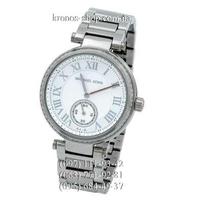 Michael Kors MK5866 Skylar Silver/White
