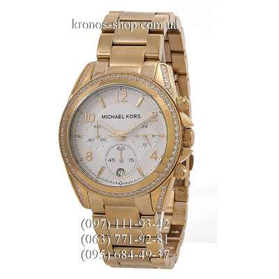 Michael Kors MK5166 Blair Gold/White