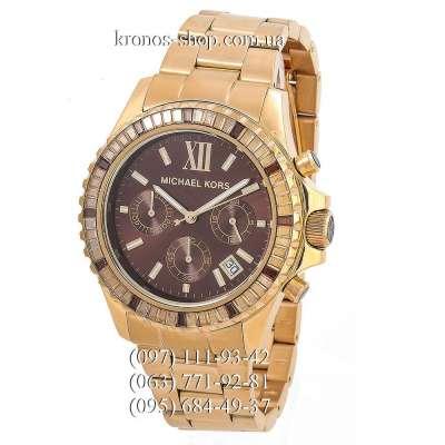 Michael Kors MK5873 Everest Gold/Brown