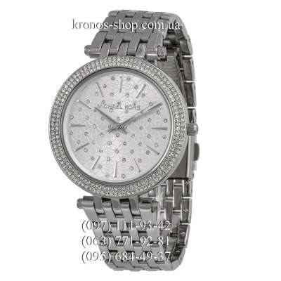 Michael Kors MK3190 Darci Pave Dial All Silver