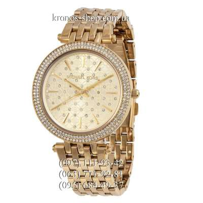 Michael Kors MK3191 Darci Pave Dial All Gold