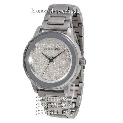 Michael Kors MK6244 Kinley Full Pave All Silver/Gray