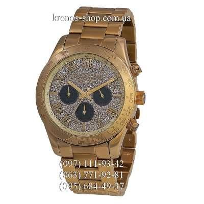 Michael Kors MK5830 Layton Chronograph All Gold/Black