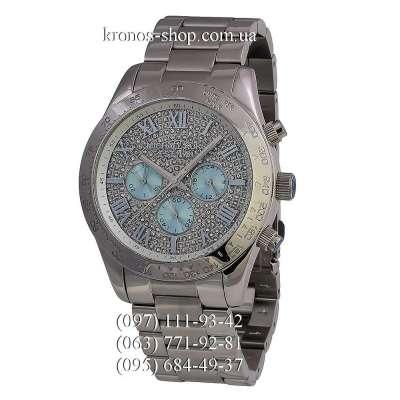 Michael Kors MK6076 Layton Chronograph All Silver/Blue