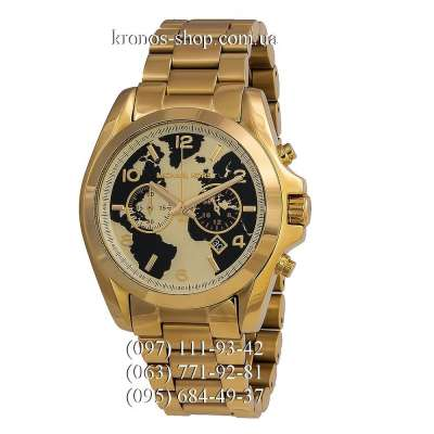 Michael Kors MK6272 Bradshaw All Gold
