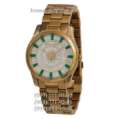 Michael Kors MK5730 Runway Gold/White-Green