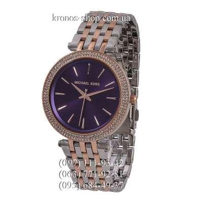Michael Kors MK3191 Darci Silver-Gold/Purple