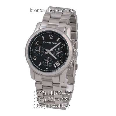 Michael Kors Runway Chronograph Silver/Black