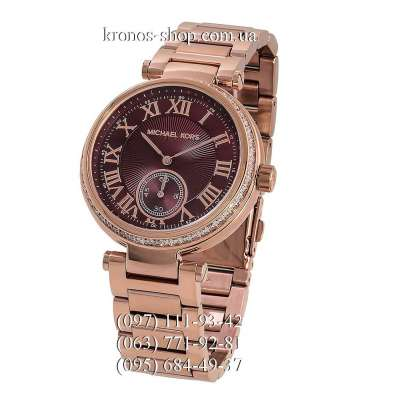 Michael Kors MK6086 Skylar Gold/Red