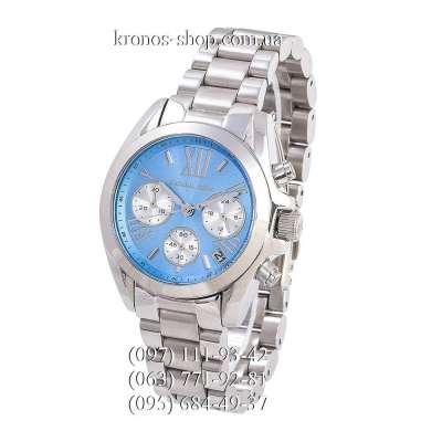 Michael Kors MK6098 Bradshaw Silver/Blue-Silver