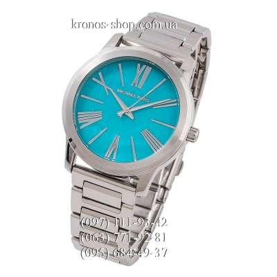 Michael Kors MK3519 Hartman Silver/Light Blue