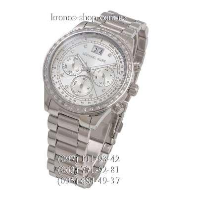 Michael Kors MK6186 Brinkley All Silver