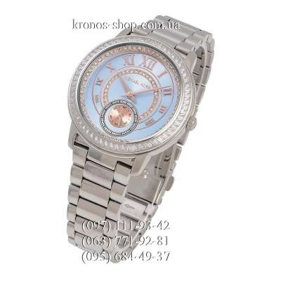 Michael Kors MK6286 Madelyn Silver/Blue-Rose Gold